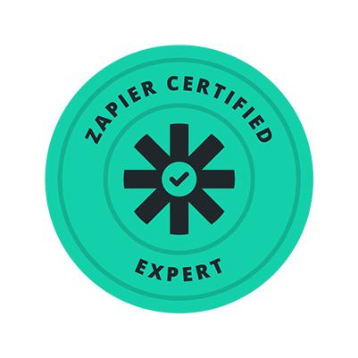 Zapier Experten Deutschland Zertifikat